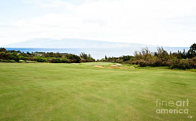 Kapalua No.7 Art Print by Scott Pellegrin