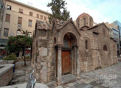 Photograph - Kapnikarea Monasteraki Athens by Deborah Smolinske