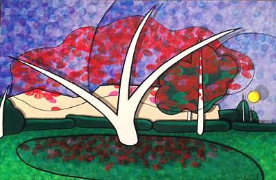 Kapok Tree In Bloom Original by Jason Charles Allen