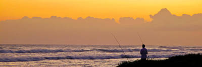Photograph - Kapolei Fisherman by Brian Gibson