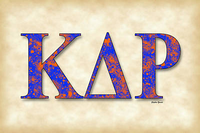 Middlebury Digital Art - Kappa Delta Rho - Parchment by Stephen Younts