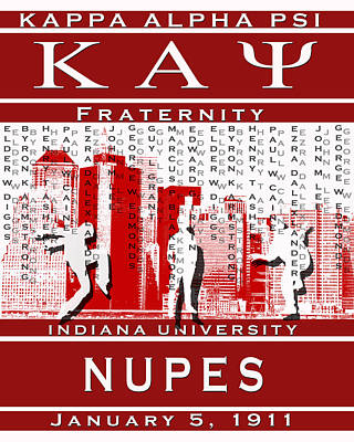 Kappa Alpha Psi Digital Art - Kappa Steppin In The Streets by Rodney Wofford