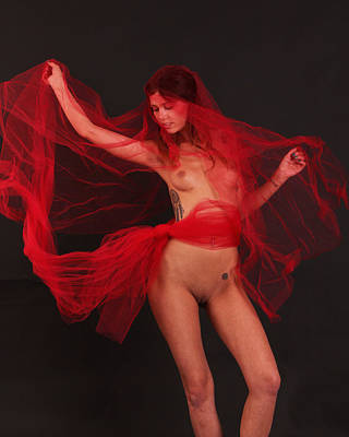 Fine Art Nude Figure Study Photograph - Kara- Dance With Vail 3 by Stephen Carver