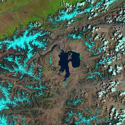 Crater Lake Wall Art - Photograph - Karakul by Nasa