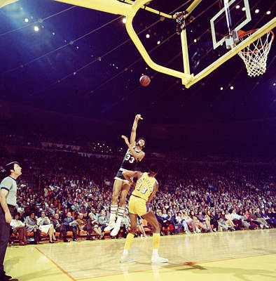 Newman Photograph - Kareem Abdul Jabbar Great Shot by Retro Images Archive