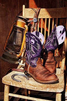 Photograph - Karen's Cowgirl Gear by Sandra Selle Rodriguez