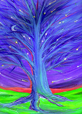 First Star Art By Jrr Digital Art - Karen's Tree 1 by First Star Art