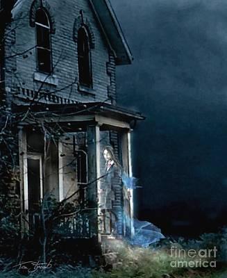 Haunted House Digital Art - Karita by Tom Straub