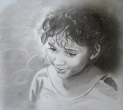 Drawing - Karizma by Emily Maynard