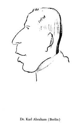 Parody Drawing - Karl Abraham (1877-1925) by Granger