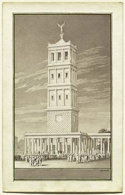 Wash Drawing - Karl Friedrich Schinkel German, 1781 - 1841 by Quint Lox