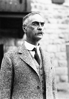 Physiology Photograph - Karl Landsteiner by American Philosophical Society