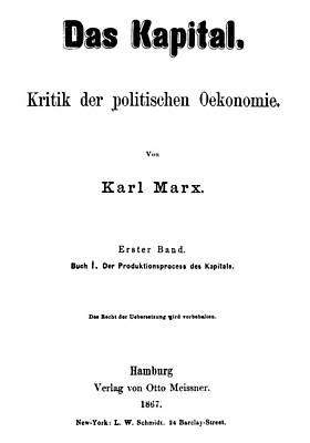 Communist Painting - Karl Marx Das Kapital by Granger