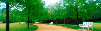 Karlsaue Park Kassel Germany Art Print by Panoramic Images