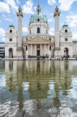 Photograph - Karlskirche by JR Photography