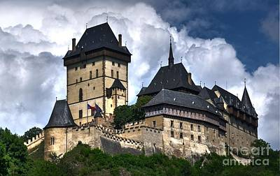 Photograph - Karlstejn Castle In Prague 2 by Joe  Ng