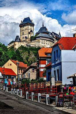 Karlstejn Castle In Prague  Art Print by Joe  Ng