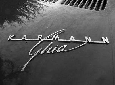 Photograph - Karmann Ghia by Baato