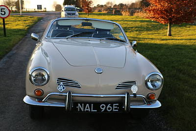 Photograph - Karmann Ghia by Denise Cicchella