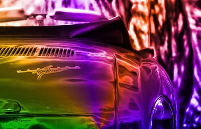 Photograph - Karmann Ghia by Ericamaxine Price