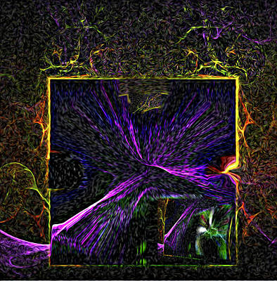 Incarnation Digital Art - Karmic Doorways Of Destiny by Rebecca Phillips