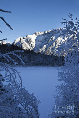 Mellow Yellow Rights Managed Images - Karwendel in winter Royalty-Free Image by Fabian Roessler
