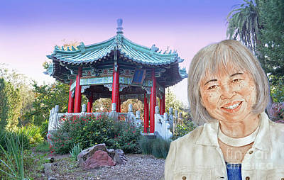 Photograph - Karyl Matsumoto Mayor Of So San Francisco Version IIi by Jim Fitzpatrick