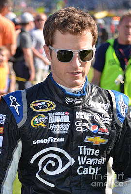 Photograph - Kasey Kahne by Mark Spearman