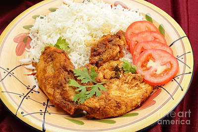 Photograph - Kashmiri Chicken With Rice by Paul Cowan