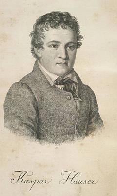 Kaspar Hauser Art Print by British Library