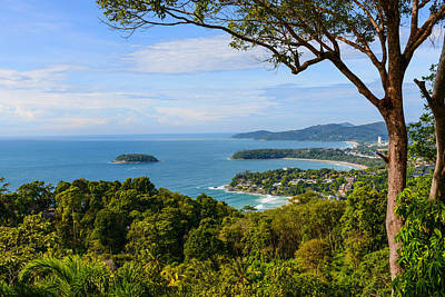 Photograph - Kata Karon Patong View Point Phuket South Of Thailand by Brandon Bourdages