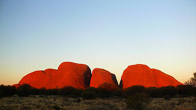 Photograph - Kata Tjuta 2012 by Evelyn Tambour