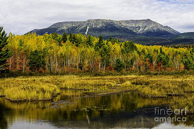Photograph - Katahdin Baxter State Park Maine by Glenn Gordon