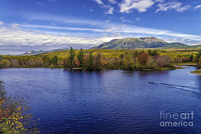 Photograph - Katahdin Maine Baxter State Park  by Glenn Gordon
