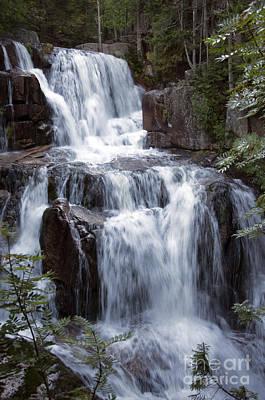 Photograph - Katahdin Stream Falls Baxter State Park Maine by Glenn Gordon