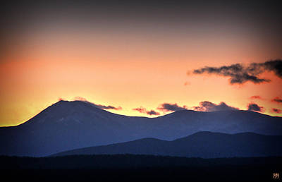 Photograph - Katahdin Sunset by John Meader
