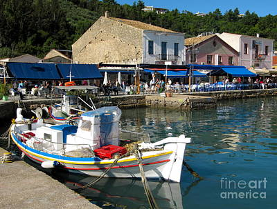 Photograph - Katalon Mv Favorite Greek Fishing Village by Phyllis Kaltenbach