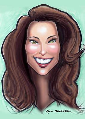 Kate Middleton Painting - Kate Middleton by Kevin Middleton