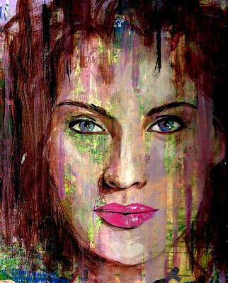 Kate Winslet Painting - Kate by P J Lewis