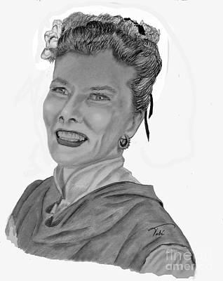 Kate Art Print by Tobi Czumak