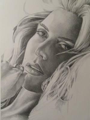 Kate Winslet Drawing - Kate Winslet by Candida Hernandez