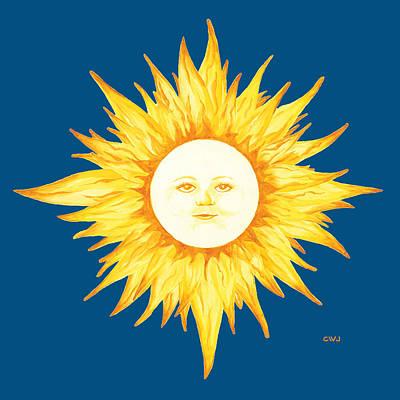 Painting - Kate's Sun by Cynda Warren Joyce