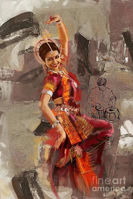 Painting - Kathak 21 by Mahnoor Shah