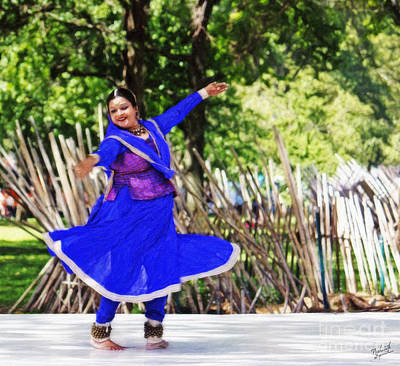 Festivals Of India Photograph - Kathak Dance by Nishanth Gopinathan