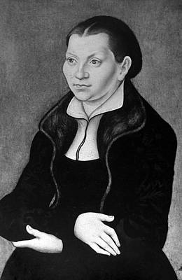 Painting - Katharina Von Bora Luther (1499-1552) by Granger