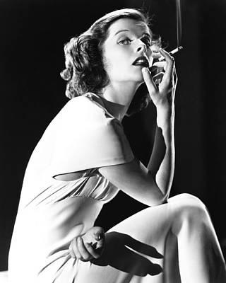 Katharine Hepburn Photograph - Katharine Hepburn by Silver Screen