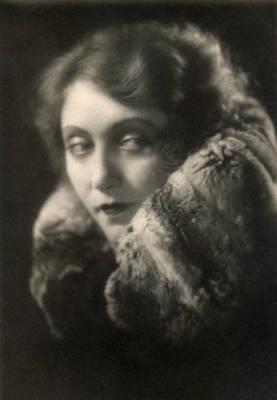 Photograph - Kathe Dorsch, German Actress by Photo Researchers