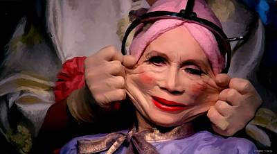 Digital Art - Katherine Helmond In The Film Brazil by Gabriel T Toro
