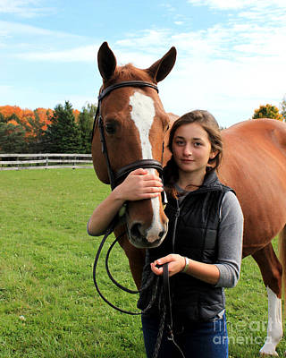 Photograph - Katherine Pal 19 by Life With Horses