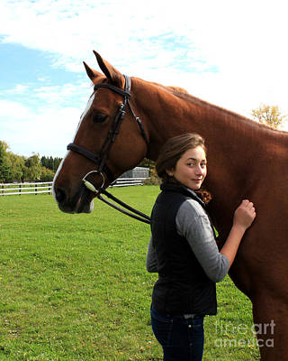 Photograph - Katherine Pal 20 by Life With Horses